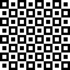 Rectangular checked pattern