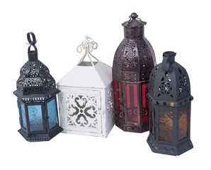 Moraccan Candle Holders