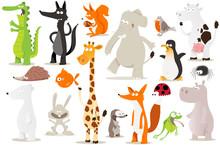Kolekcja zwierząt dla dzieci
