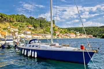 Novigrad Dalmatinski bay sailing harbor