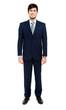 Handsome businessman full length