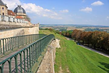 Walls of Langres, France
