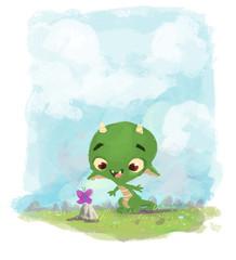 dragón pequeño
