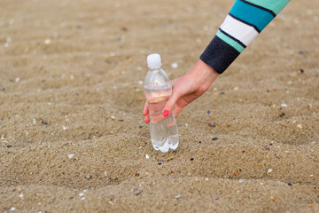 sand water bottle