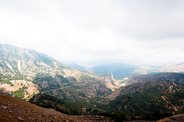 View of Psiloritis mountains