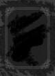 Vintage frame on the grunge dark background
