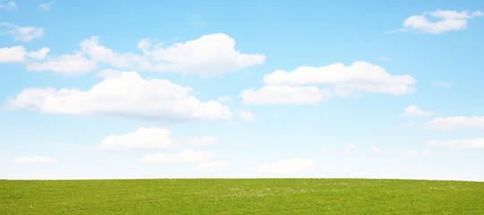 Sommer Landschaft Panorama