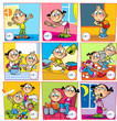 Schedule of the day for kids