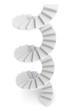 White spiral staircase - 68298492