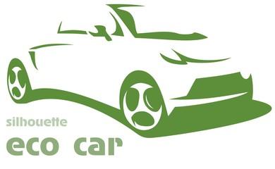 silhouette eco car