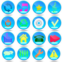 New set  most popular icons.