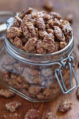 Candied almond and pecan