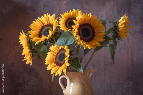 canvas print picture Sonnenblumen