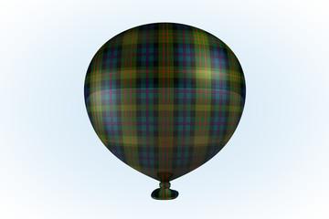 Irish Plaid Balloon