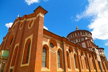 Church of Santa Maria delle Grazie in Milan, Italy