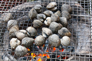 Grilled Blood Clam