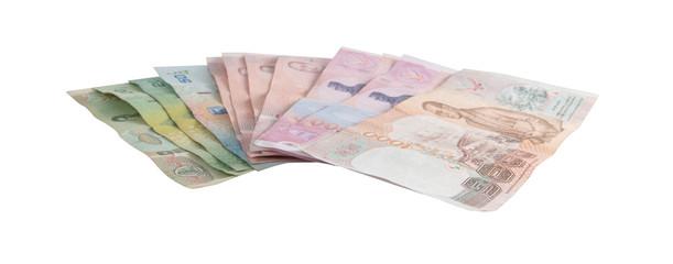 thai banknotes