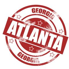 Atlanta stamp
