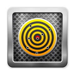 metal and target icon