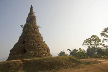 Ruins Wat Phia near Phonsavan