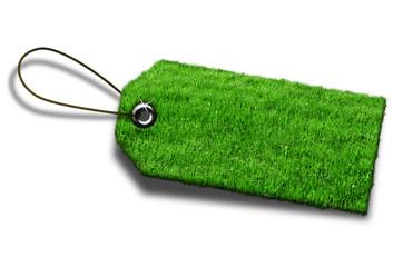 Anhänger Gras Grün