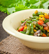 Vegetable Stew - green beans, mushrooms, carrots and corn