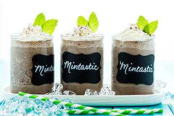 Mintastic cold drink