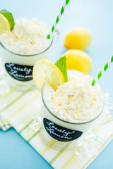Lovely lemon cold drink