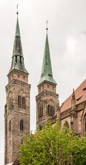 Towers of St. Sebald Church