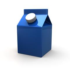 Blue blank juice pack