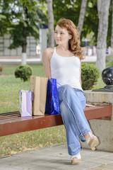 girl shopping gifts