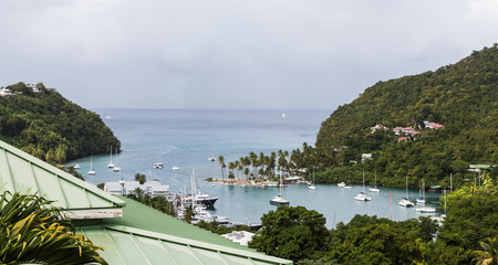 Marigot Bay Beyond Green Roof