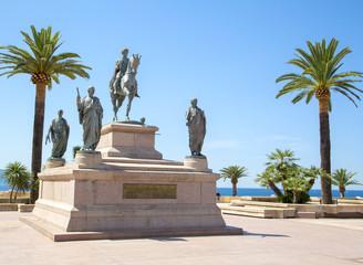 Equestrian statue of Napoleon Bonaparte, Ajaccio, France