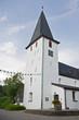 canvas print picture - Kirche Lieberhausen-Bunte Kerke