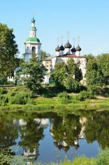 Вологда, церкви Д. Прилуцкого и Успения Богородицы на Наволоке