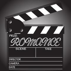 Romance Clapper Board