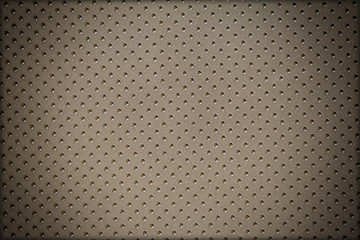 Abstract pattern black leather dot for background
