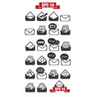 Set of messages icons
