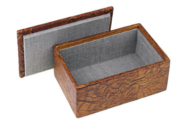 Box for jewelry  isolated