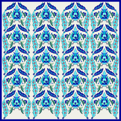 Ottoman motifs design series seventy one