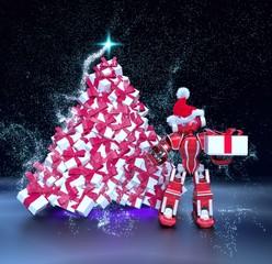 Petit méca Noël