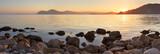 Fototapety Sea view at sunset