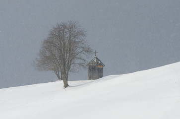 Chapel in the mountain village