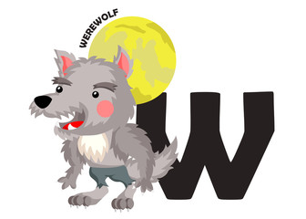 W for Werewolf