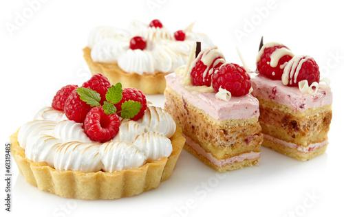 Keuken foto achterwand Bakkerij Cakes
