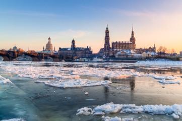 Das winterliche Dresden