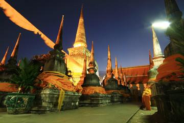 Wat Phra Mahathat Southern Thailand.