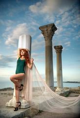 girl on Chersonesos
