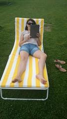 Femme lisant