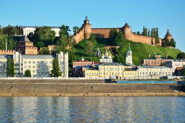 View of the ancient Russian city Nizhny Novgorod